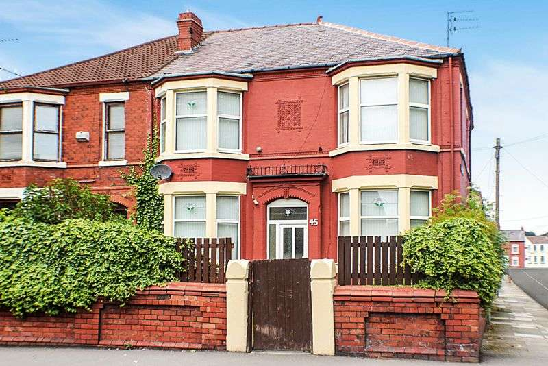 4 Bedrooms House for sale in Manor Road, Wallasey