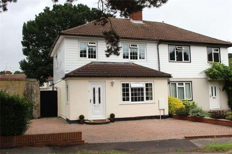 3 Bedrooms Semi Detached House for sale in Albert Drive, Sheerwater, Surrey, GU21