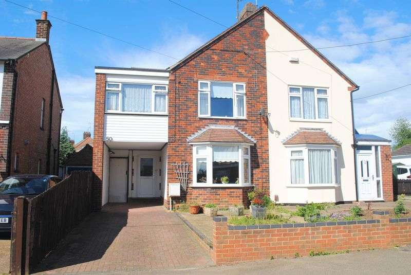 3 Bedrooms Semi Detached House for sale in Wharf Road, Higham Ferrers