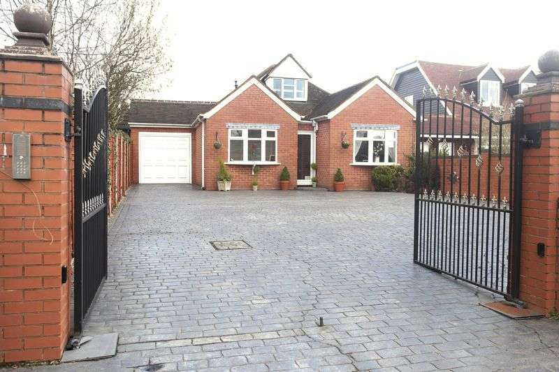 4 Bedrooms Detached Bungalow for sale in Walsall Wood Road, Aldridge, Walsall