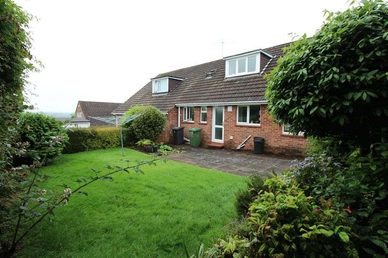 3 Bedrooms Semi Detached Bungalow for sale in Wiltshire Close, Higher St Thomas