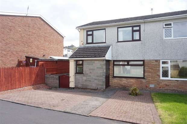 3 Bedrooms Semi Detached House for sale in Sycamore Court, Woodfieldside, BLACKWOOD, Caerphilly
