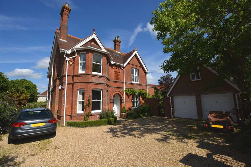 6 Bedrooms Detached House for sale in Westfield Road, Lymington, Hampshire, SO41