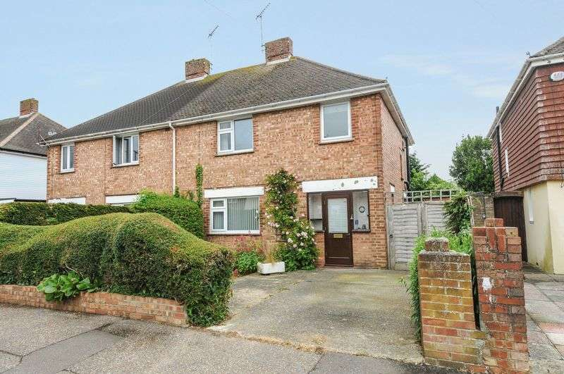 3 Bedrooms Semi Detached House for sale in Frith Road, Bognor Regis