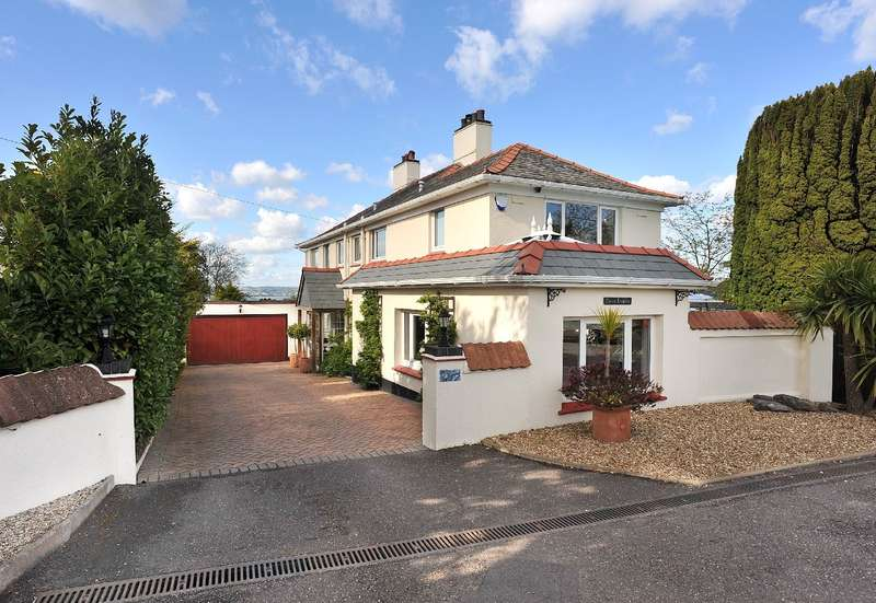 4 Bedrooms Detached House for sale in Green Dolphin, Bascombe Road, Churston Ferrers, Brixham