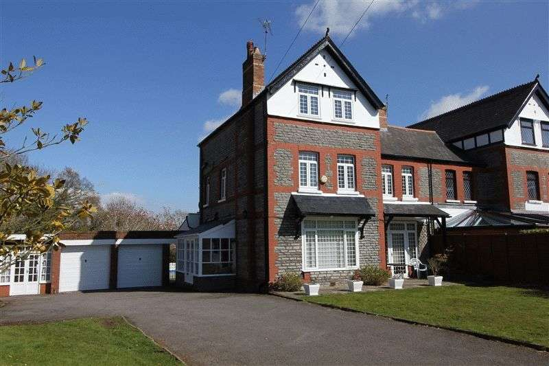 4 Bedrooms Semi Detached House for sale in Sully Road, Penarth