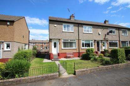 2 Bedrooms End Of Terrace House for sale in Moorhouse Avenue, Paisley