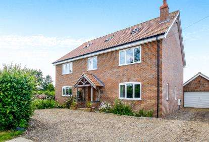 5 Bedrooms Detached House for sale in Ilketshall St. Margaret, Bungay, Suffolk