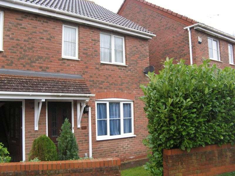 3 Bedrooms Semi Detached House for sale in College Green, Yeovil