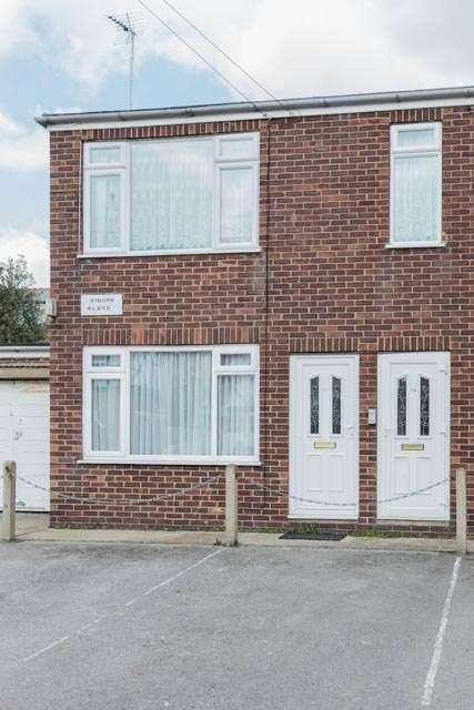 1 Bedroom Flat for sale in Ryburn Flats, Swanland Avenue, Bridlington, East Yorkshire, YO15
