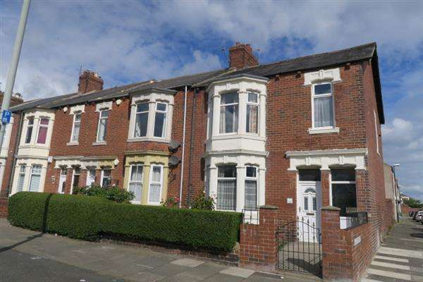 4 Bedrooms Terraced House for sale in Mowbray Road, South Shields