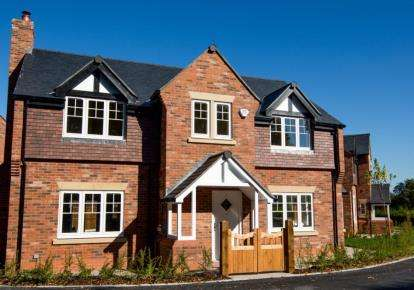 4 Bedrooms Detached House for sale in St Elphins View, Daresbury Lane, Hatton, Warrington