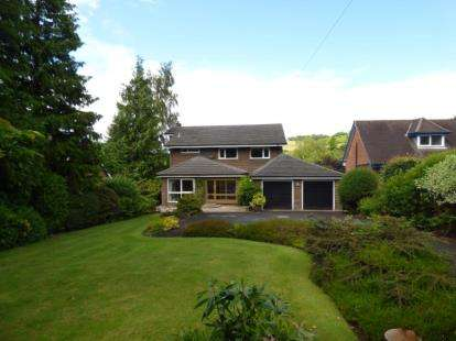 4 Bedrooms Detached House for sale in Langley Road, Langley, Macclesfield, Cheshire