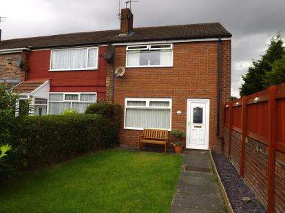 3 Bedrooms End Of Terrace House for sale in Melville Close, Widnes, Cheshire, WA8