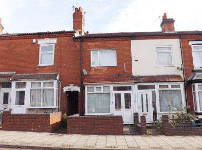 2 Bedrooms Terraced House for sale in Milner Road, Birmingham, West Midlands