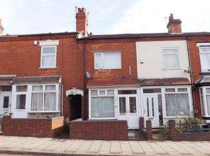 2 Bedrooms Terraced House for sale in Milner Road, Birmingham, West Midlands