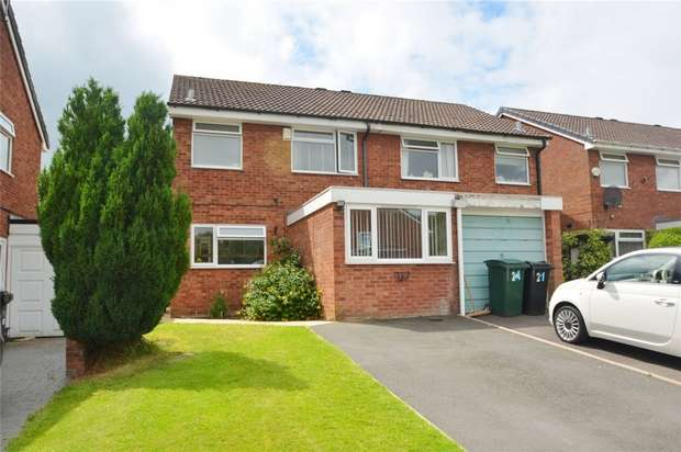 3 Bedrooms Semi Detached House for sale in 19 Cherrybrook Drive, Broseley, Shropshire