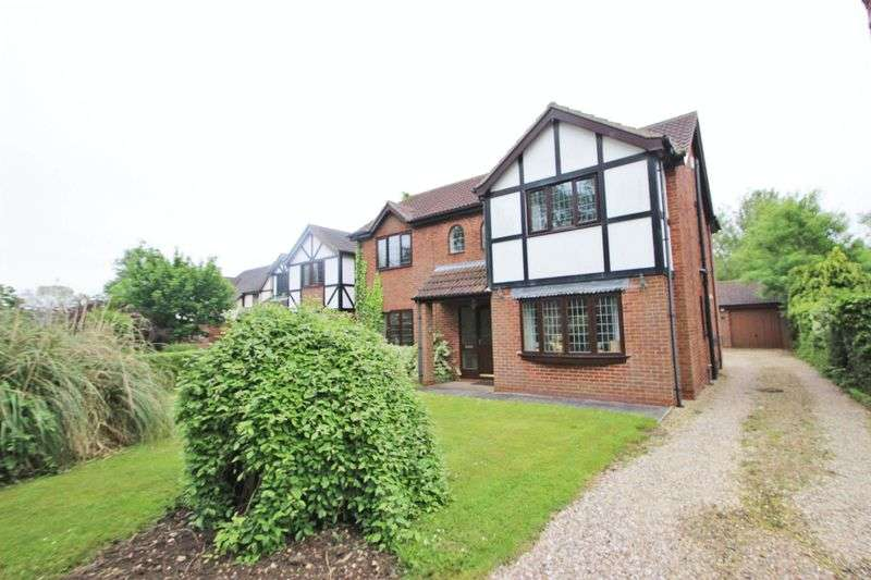 4 Bedrooms Detached House for sale in OSIER HOLT, SALTFLEETBY