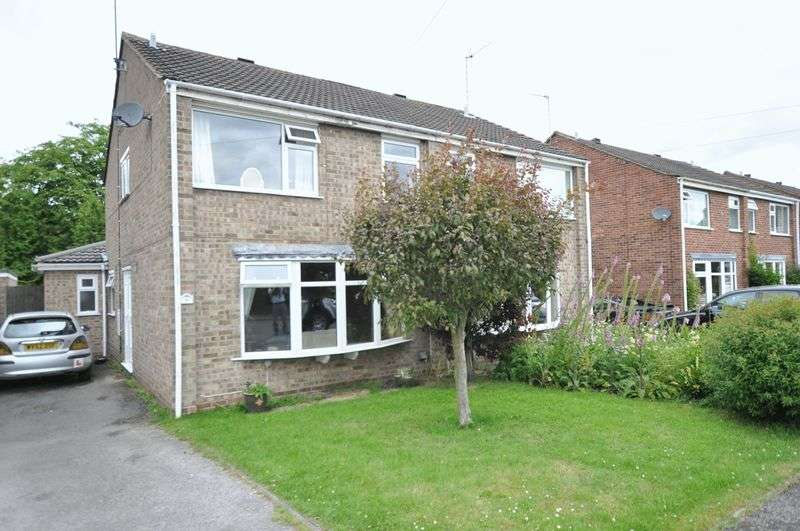 3 Bedrooms Semi Detached House for sale in Alderbrook Close, Rolleston on Dove