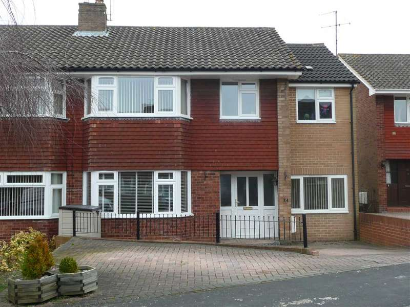 4 Bedrooms Semi Detached House for sale in Braemar Close, Lawn, Swindon