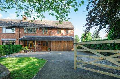 4 Bedrooms Semi Detached House for sale in Burntwood Road, Hammerwich, Burntwood
