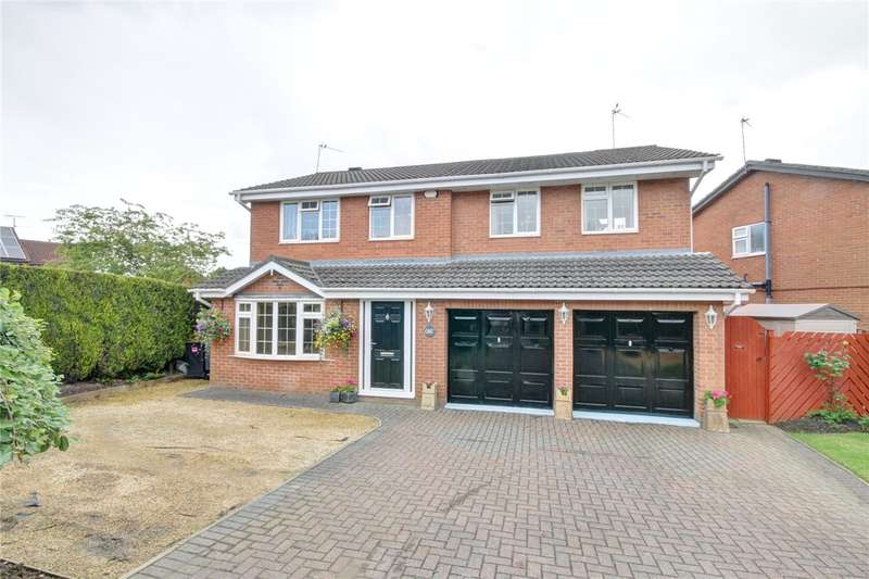4 Bedrooms Detached House for sale in Allendale Road, Meadowfield, Durham, DH7