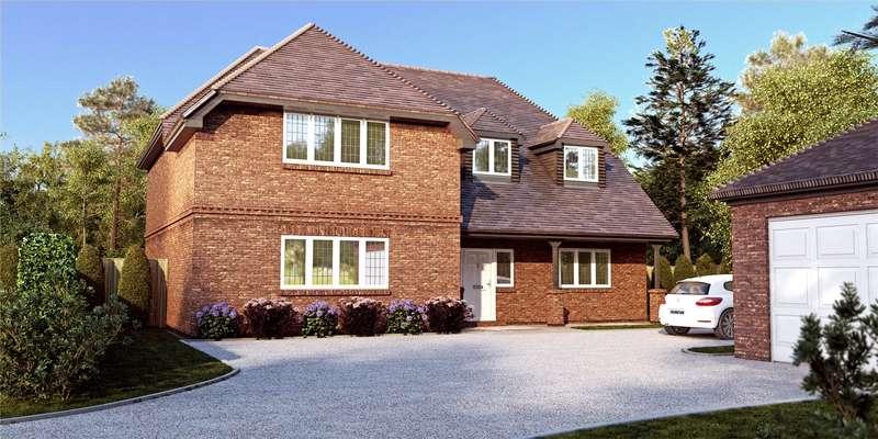 5 Bedrooms Detached House for sale in Roundabout Lane, Winnersh, Wokingham, Berkshire, RG41