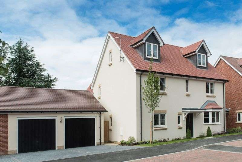 5 Bedrooms Detached House for sale in Plot 38, The Windsor King's Field, Marcham