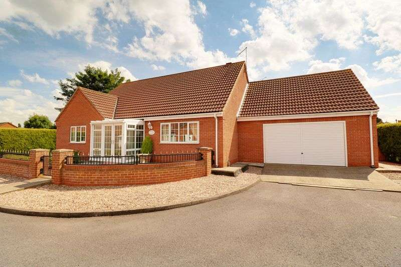 3 Bedrooms Detached Bungalow for sale in Tyson Close, Barton-Upon-Humber
