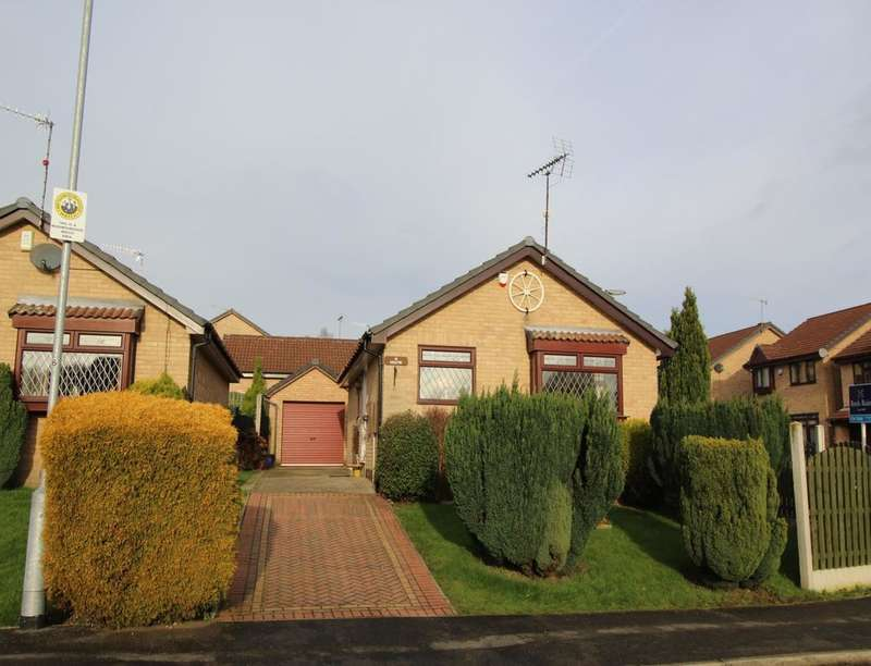 2 Bedrooms Semi Detached Bungalow for sale in Oaken Wood Road, Thorpe Hesley, Rotherham, S61