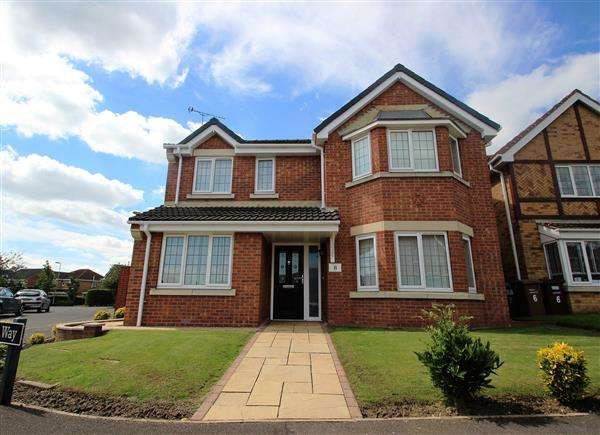 4 Bedrooms Detached House for sale in Galahad Way, South Elmsall