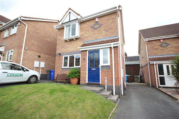 2 Bedrooms Detached House for sale in Menai Grove, Ashwood Heights, Stoke-on-Trent