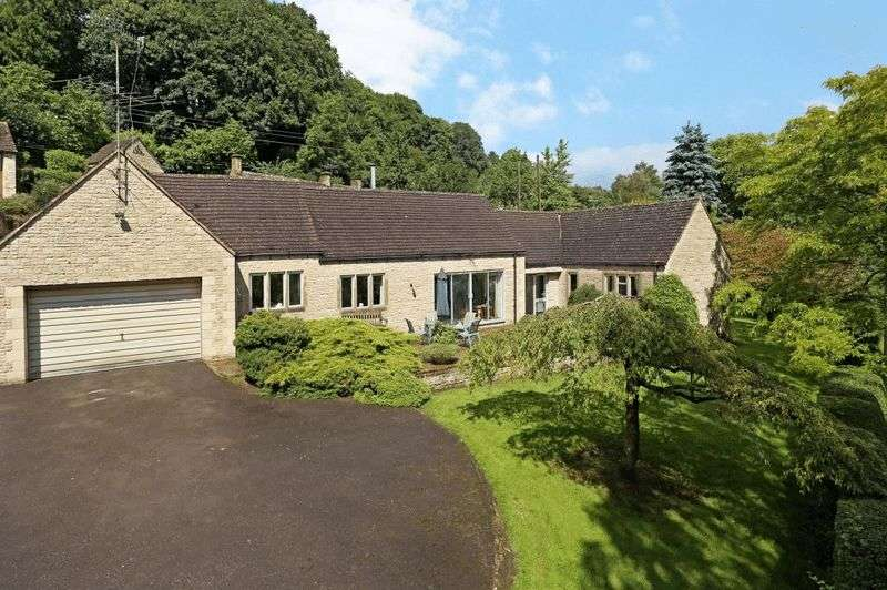 3 Bedrooms Detached Bungalow for sale in Sheepscombe, Gloucestershire