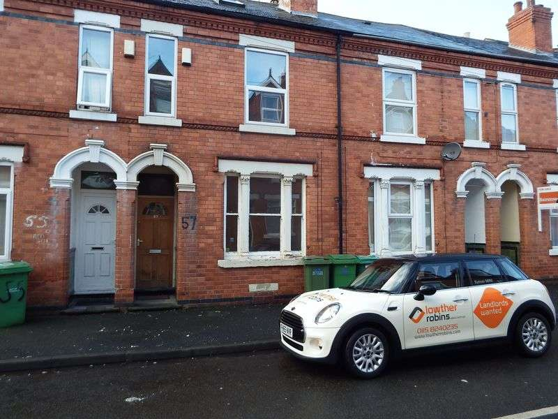 4 Bedrooms Terraced House for sale in Exeter Road, Nottingham