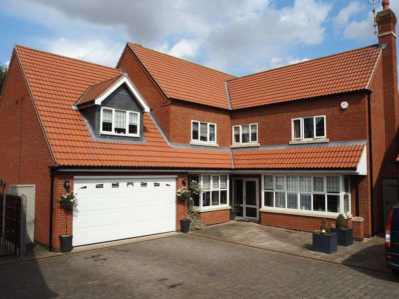 5 Bedrooms Detached House for sale in Bay Tree Corner, Willow Drive North Muskham