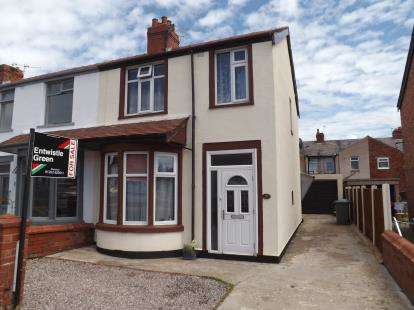 3 Bedrooms End Of Terrace House for sale in Shetland Road, Blackpool, Lancashire, FY1