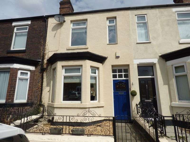 3 Bedrooms Terraced House for sale in Old Liverpool Road, Warrington