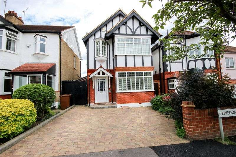 4 Bedrooms Detached House for sale in Clivedon Road, Highams Park, London, E4