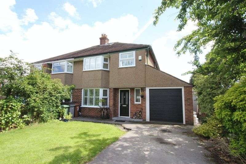 3 Bedrooms Semi Detached House for sale in Barnston Road, Heswall, Wirral