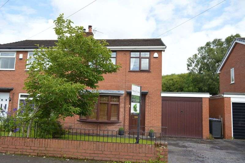 3 Bedrooms Semi Detached House for sale in 49 Haddon Road, Lowton, WA3 2JQ
