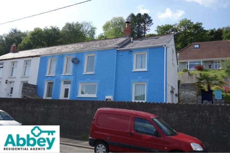 3 Bedrooms Semi Detached House for sale in Graig Road, Godrergraig, Swansea, SA9 2NZ