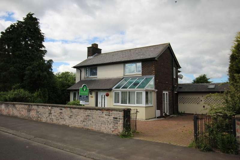 4 Bedrooms Detached House for sale in Grange Road, Shilbottle, Alnwick, NE66