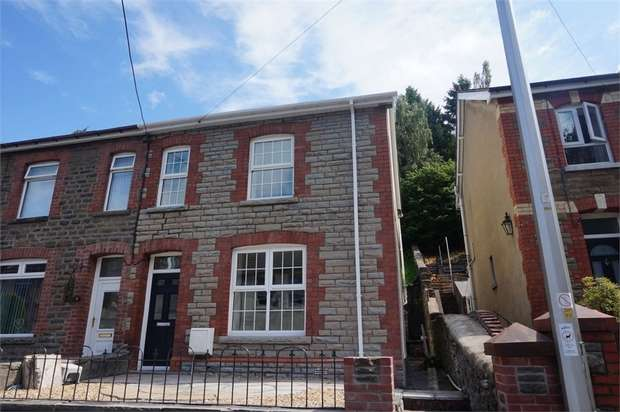 4 Bedrooms Semi Detached House for sale in Commercial Street, Ynysddu, NEWPORT, Caerphilly