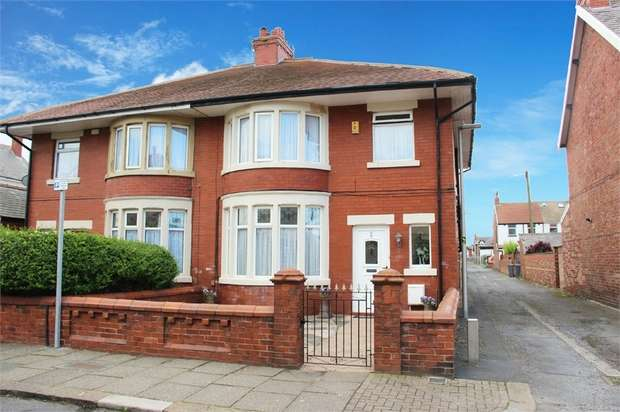 3 Bedrooms Semi Detached House for sale in Mersey Road, Blackpool, Lancashire