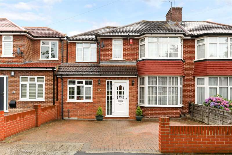 4 Bedrooms Semi Detached House for sale in Peareswood Gardens, Stanmore, HA7