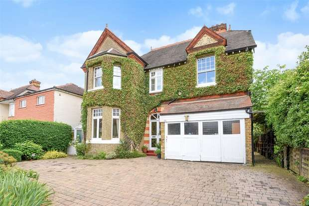 4 Bedrooms Detached House for sale in Percy Road, Hampton