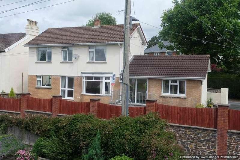4 Bedrooms Detached House for sale in Barbican Lane, Barnstaple