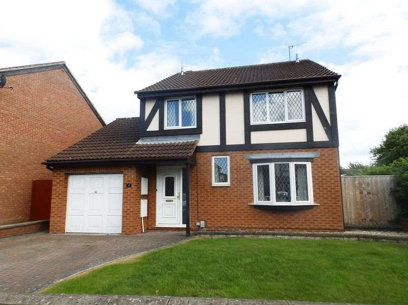 4 Bedrooms Detached House for sale in Rainer Close, Stratone Village