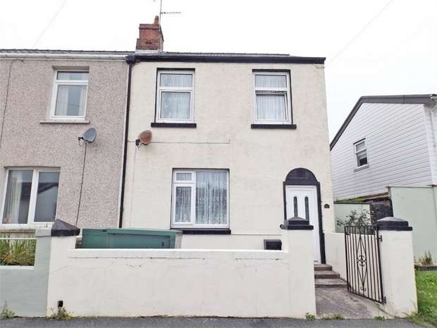 3 Bedrooms End Of Terrace House for sale in Milton Crescent, Milford Haven, Pembrokeshire