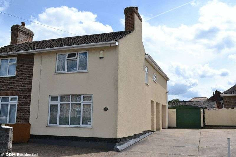 3 Bedrooms Semi Detached House for sale in High Street, Broughton